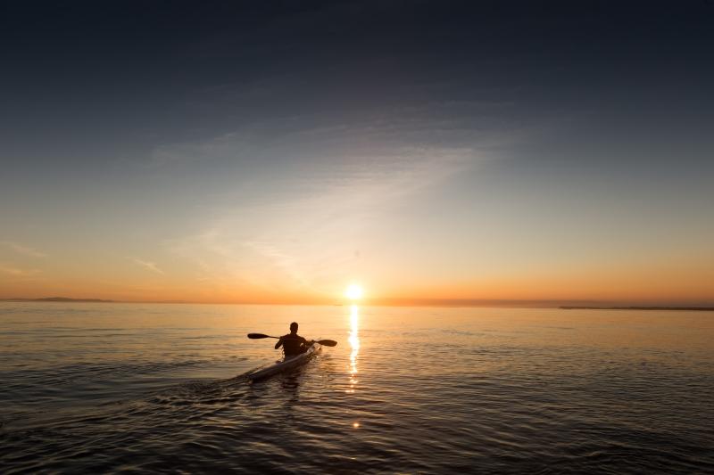 Kayaktrip - Kayak Trip vous emmène pour des balades en kayak de mer accompagné par Dorian, guide diplômé d'Etat, expérimenté et passionné qui partage son savoir sur le patrimoine, la faune et la flore du bassin d'Arcachon. Vous vous imprégnez de la richesse et de la sérénité de lieux comme le banc d'Arguin, la dune du Pilat, le delta de la Leyre (départ selon les marées et les lieux de balade).