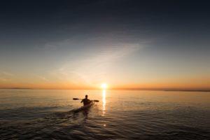 Sortie crépusculaire en kayak - Agenda Sports et loisirs du Teich