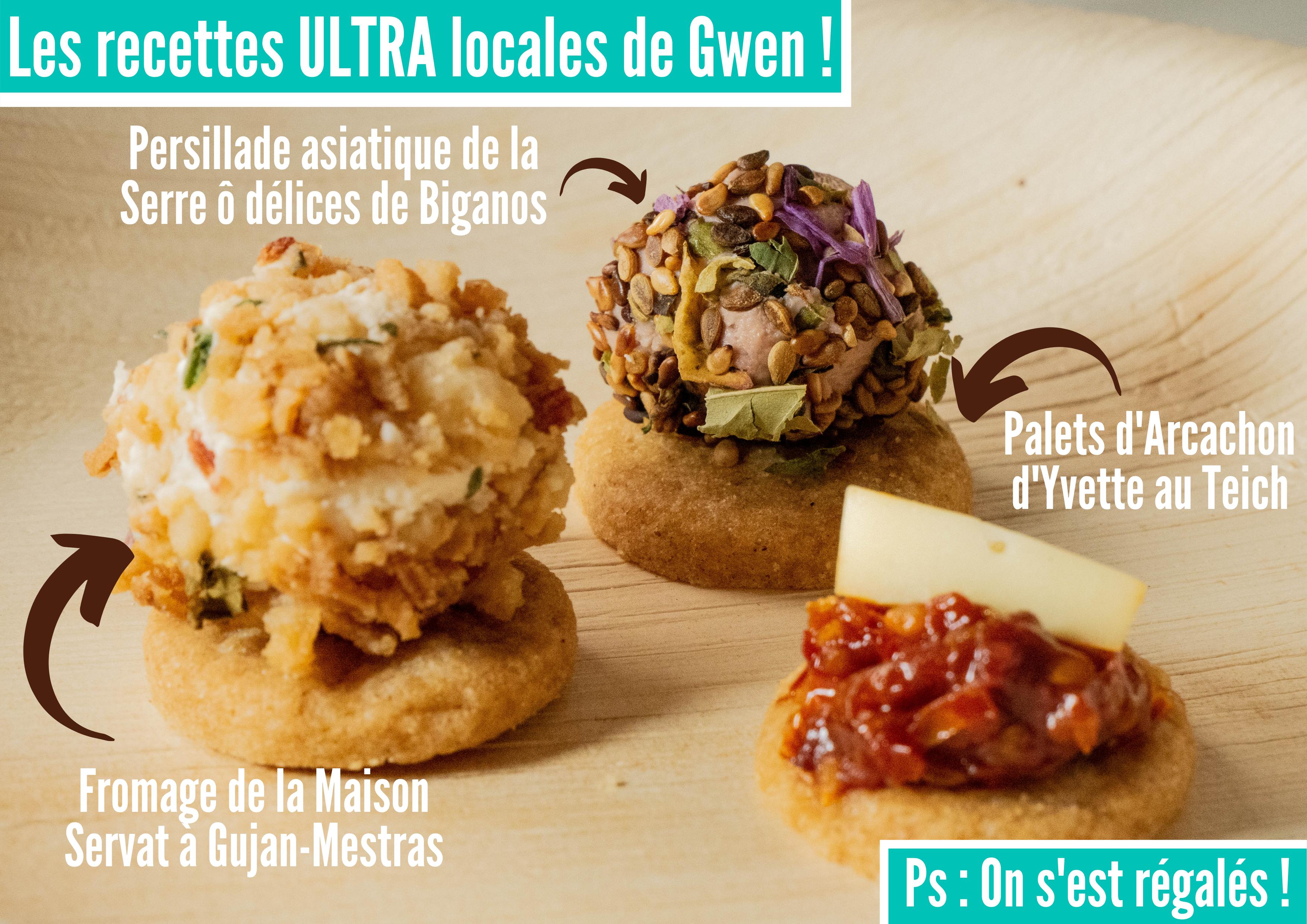 Les recettes ULTRA locales de Gwen •  Actualités
