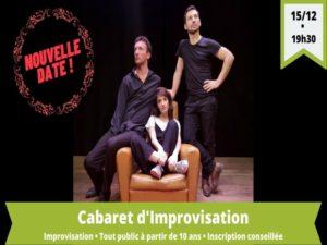 Cabaret d'improvisation – collectif 22h22 - Agenda Culturelle Office de Tourisme Le Teich